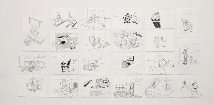 Drawings (c) Marcel Steinmann